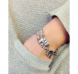 Elephant Necklace & Bracelet