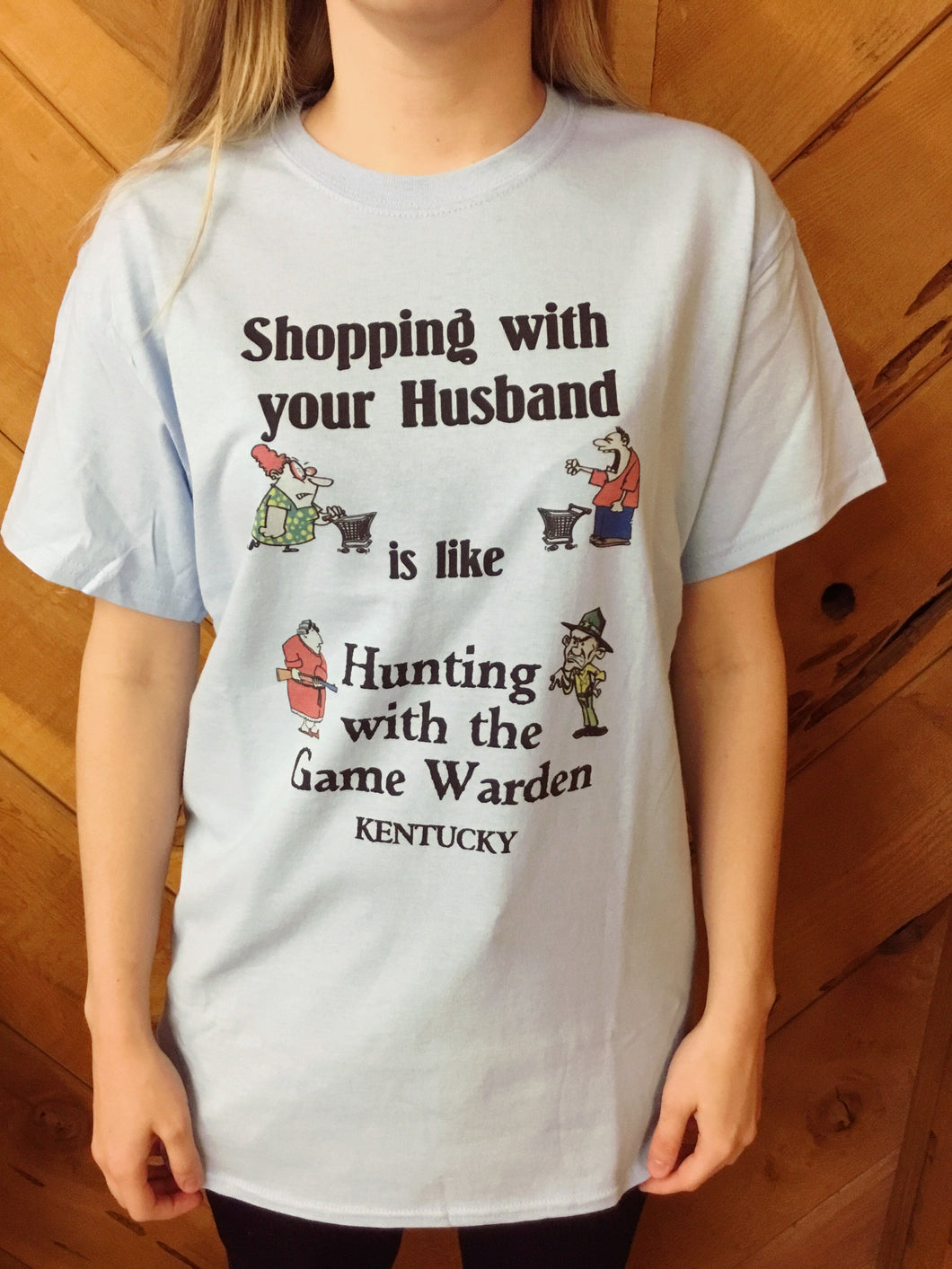 Shopping with your Husband T-shirts