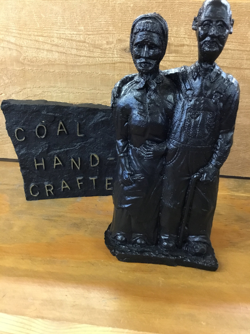 Ma & Pa Hand Crafted from Coal