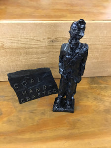 Coal Miner Hand Crafted from coal