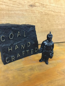 Coal Miner Ornament Hand Crafted from Coal