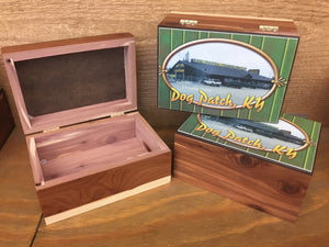 Dog Patch Cedar Box