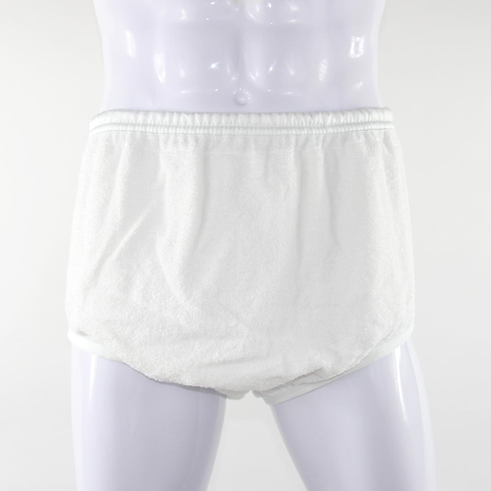 KINS Double Layer Terry Pull-On Pant 100% Cotton Adult Diaper 20850
