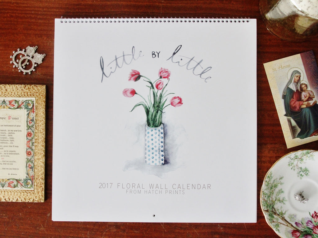 PREORDER 2020 WALL CALENDAR, LITTLE BY LITTLE - SHIPS IN MID DECEMBER