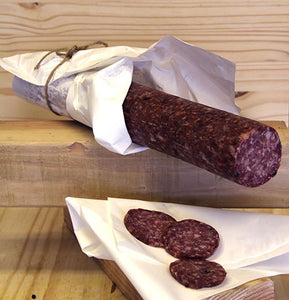 Uncured Finocchiona Salami