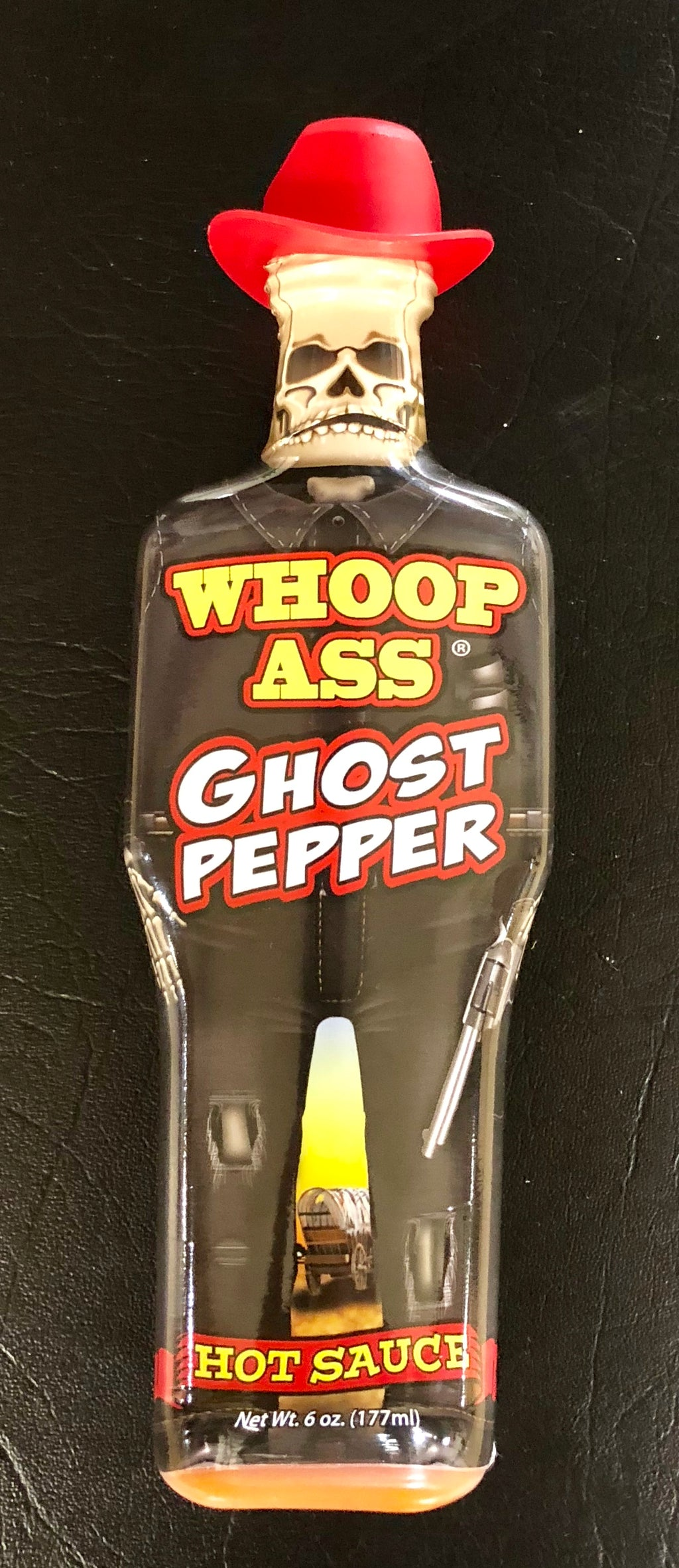 Ass Kickin' Whoop Ass Ghost Pepper Hot Sauce