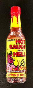 Ass Kickin' Hot Sauce from Hell