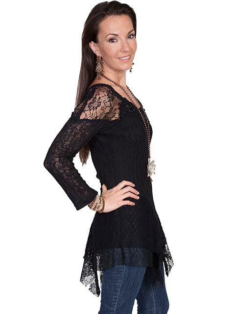 Scully Lace Pullover Blouse