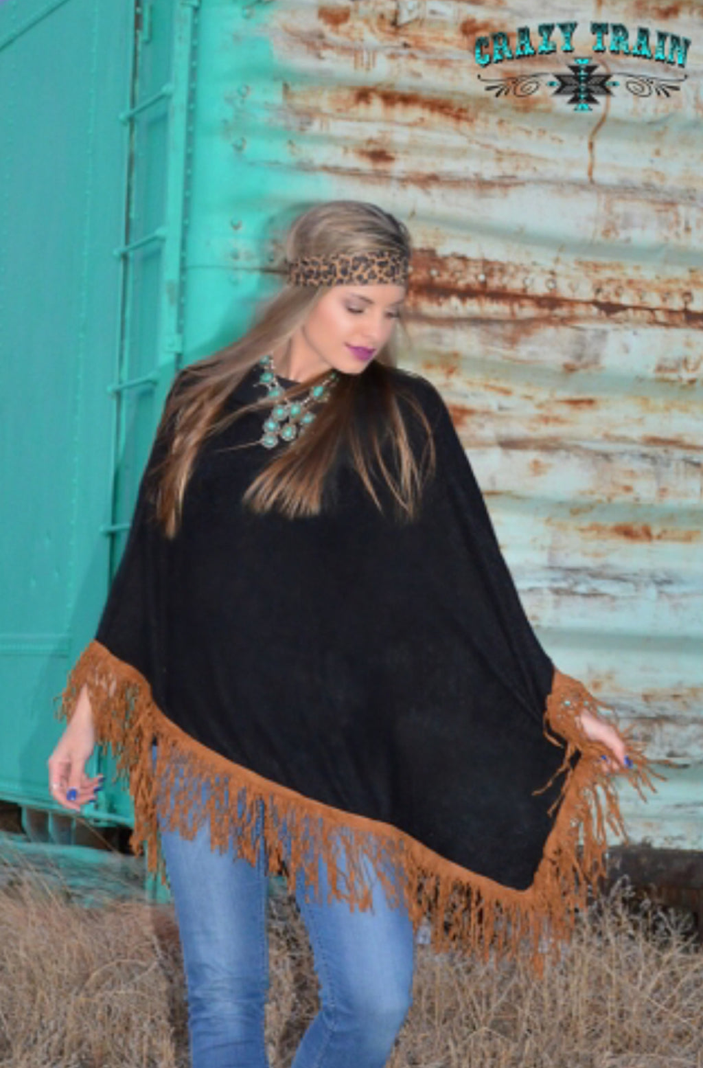 Crazy Train Urban Outlaw Poncho