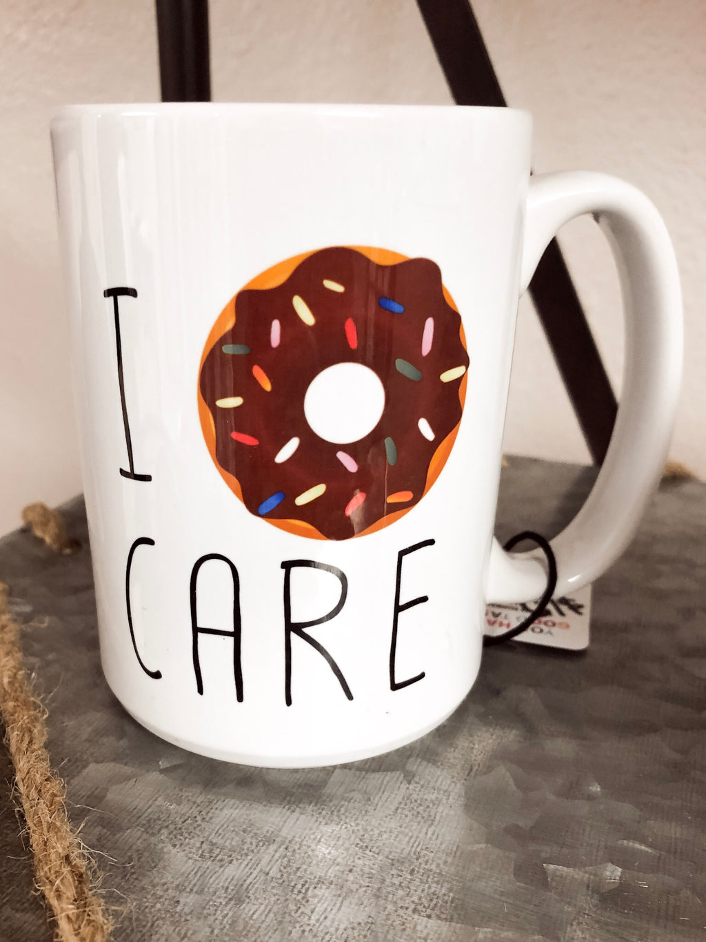 Donut Coffee Cup