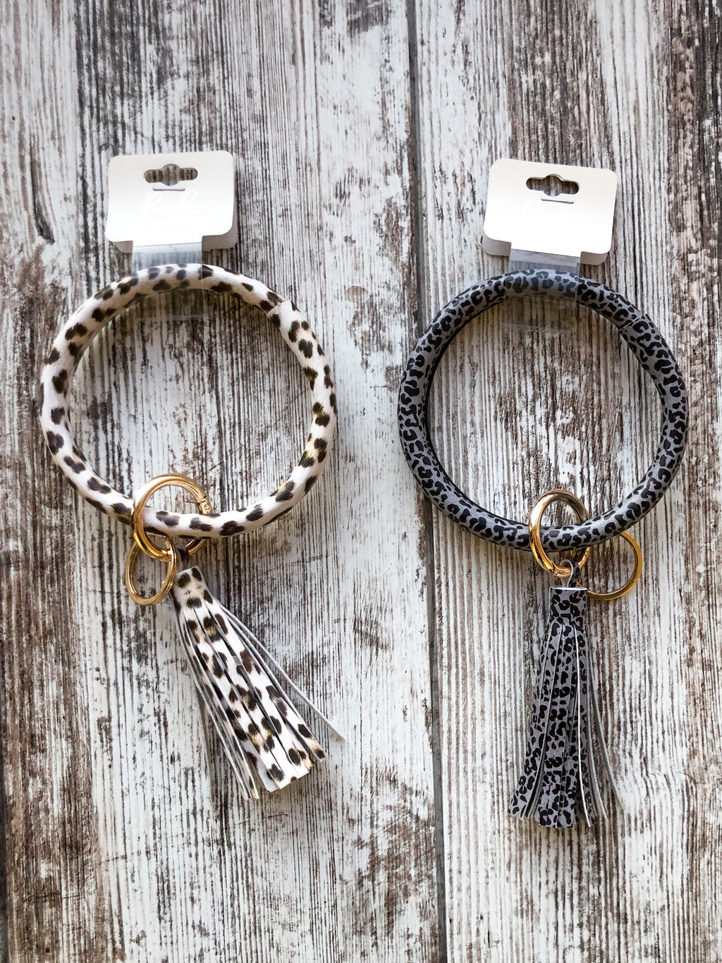 Leopard Key Rings