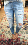 Bella Distressed Skinnies