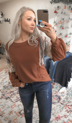 Jade Rust Top