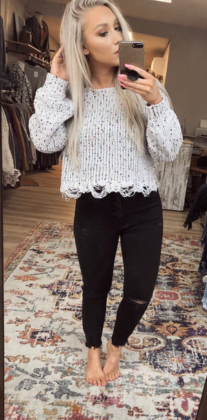 Finley Distressed Sweater