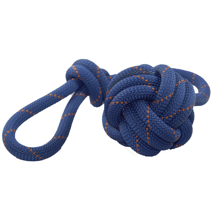 Monkey's Fist Knot Climbing Rope Dog Toy