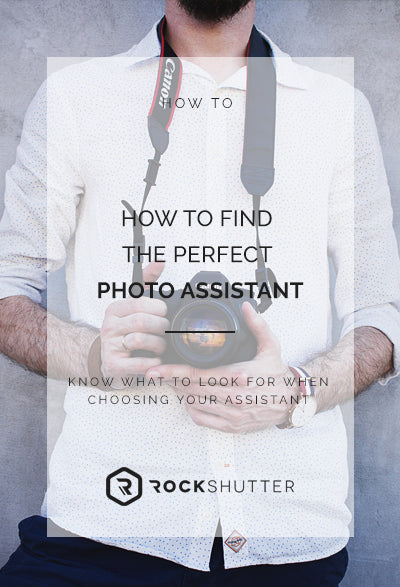How to find the perfect photo assistant