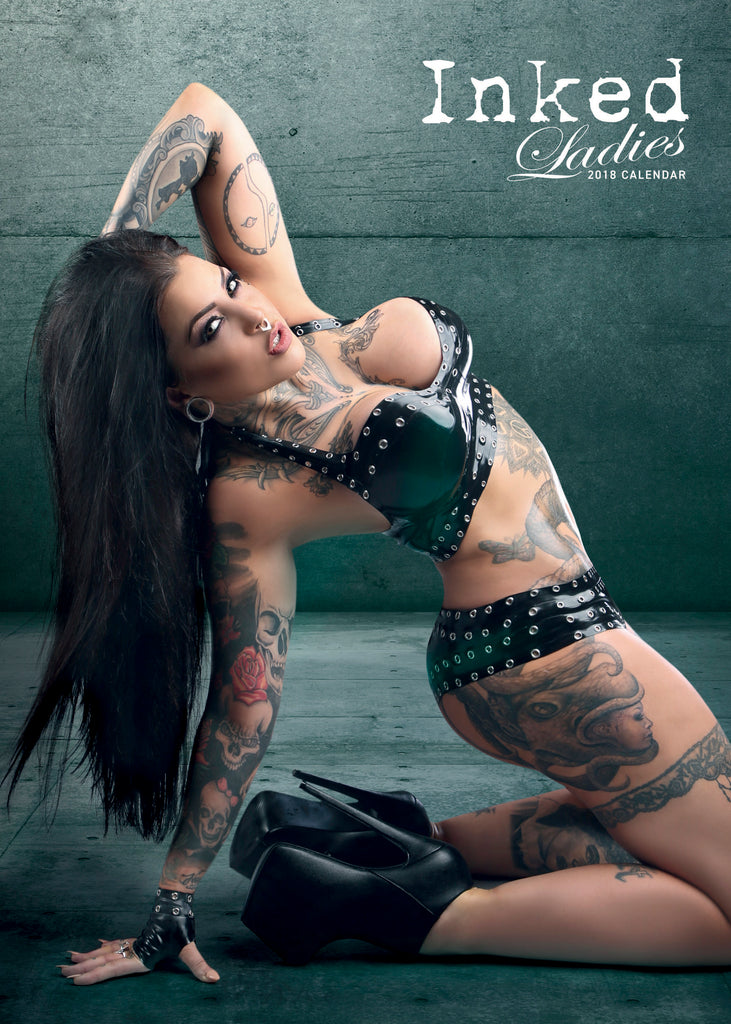 Inked Ladies 2018 Calendar