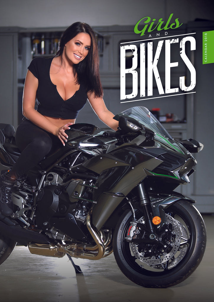 Girls and Bikes 2018 Calendar