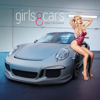 Girls and Cars 2018 Calendar