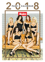 The Sun Page 3 Official 2018 Calendar
