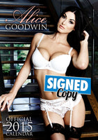 Alice Goodwin Official 2015 Calendar SIGNED