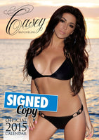 Casey Batchelor Official 2015 Calendar SIGNED
