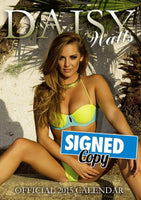 Daisy Watts Official 2015 Calendar SIGNED
