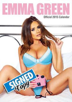 Emma Green 2015 Signed Calendar