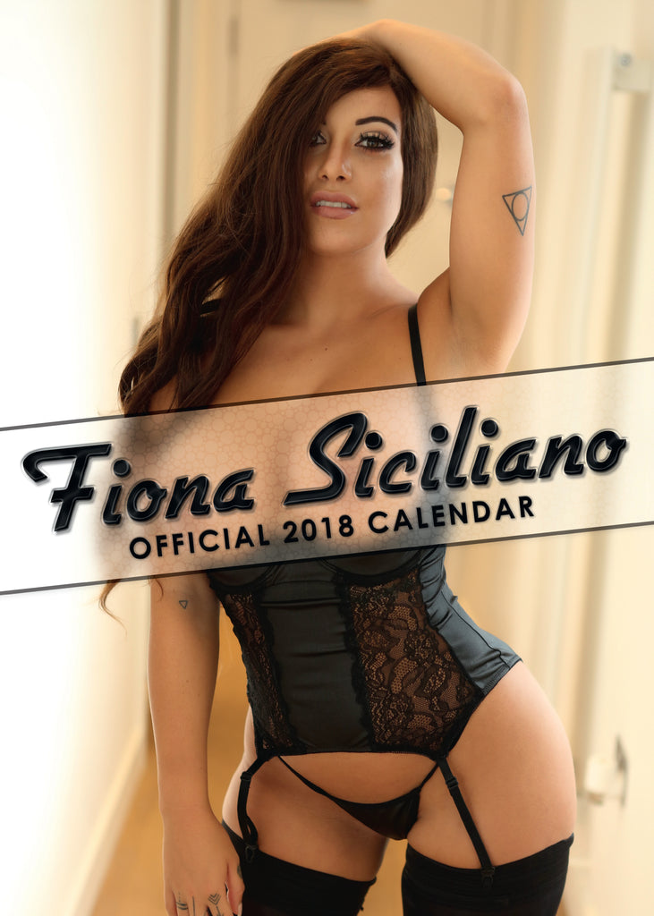Fiona Siciliano Official 2018 Calendar