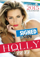 Holly Peers Official 2015 Calendar SIGNED