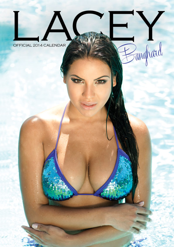 Lacey B Official 2014 Signed Calendar