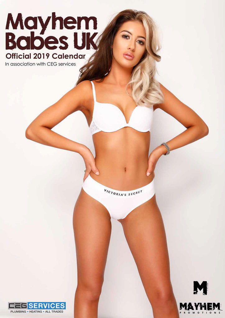 Mayhem Babes Official 2019 Calendar