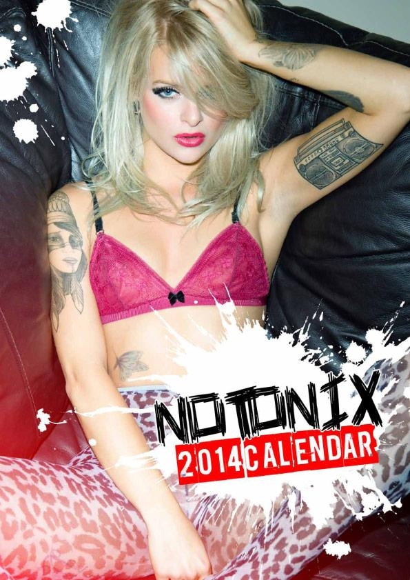 Rachel Notonix Official 2014 Calendar