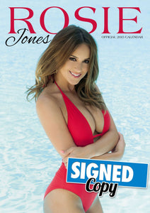 Rosie Jones Official 2015 Calendar SIGNED