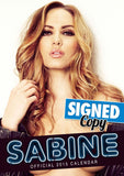 Sabine Official 2015 Calendar SIGNED