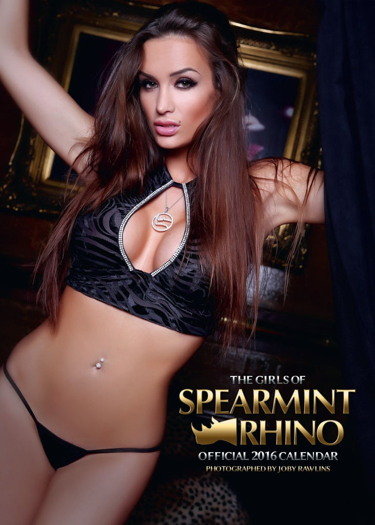 Spearmint Rhino UK 2016 calendar