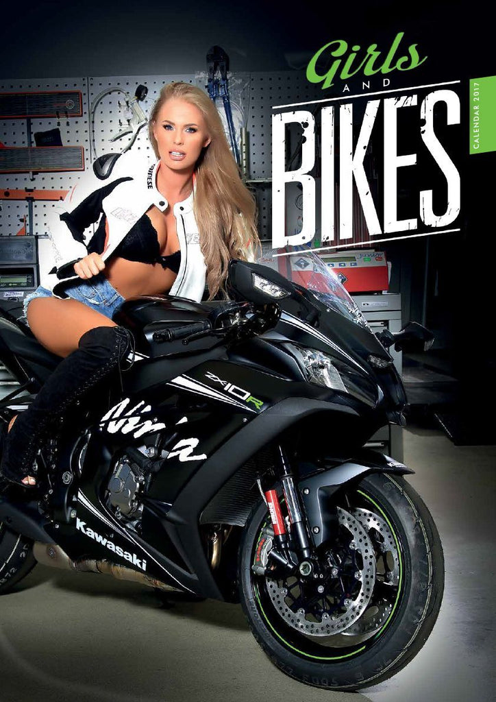 Girls and Bikes 2017 Calendar