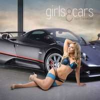 Girls And Cars 2017 Calendar
