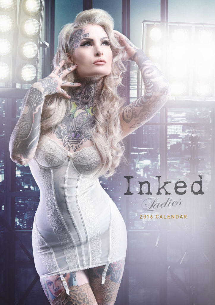 Inked - tattooed Girls 2016 Calendar