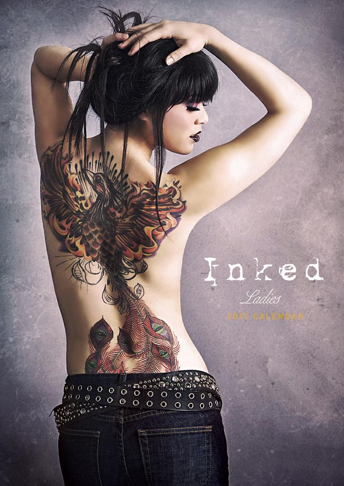 Inked - tattooed Girls Official 2015 Calendar