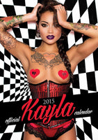 Kayla Official 2015 Calendar