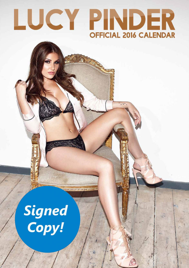 Lucy Pinder 2016 Calendar SIGNED