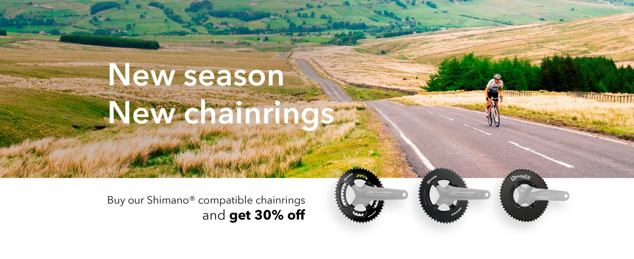 Shimano Cranksets with ROTOR Chainrings