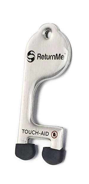 TOUCH-AID touch tool, silver color