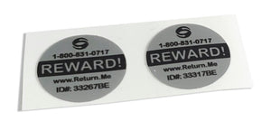 Circle Size Label Tags (2 Pack)