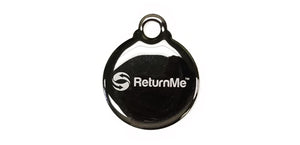 Round Key Tag - ReturnMeTags