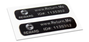 Slim Size Label Tags (2 Pack)