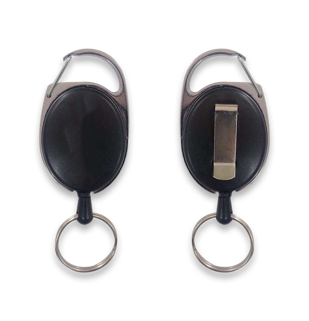 Retractable Key Holder (Pack of 2)