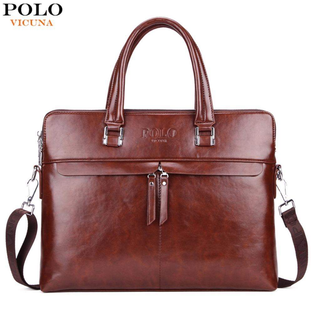 VICUNA POLOl Business Double Layer  Briefcase