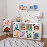 Grey Elephant Toy Storage Box